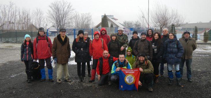 Izveštaj sa akcije: Novogodišnja šetnja Radovanjskim brdima