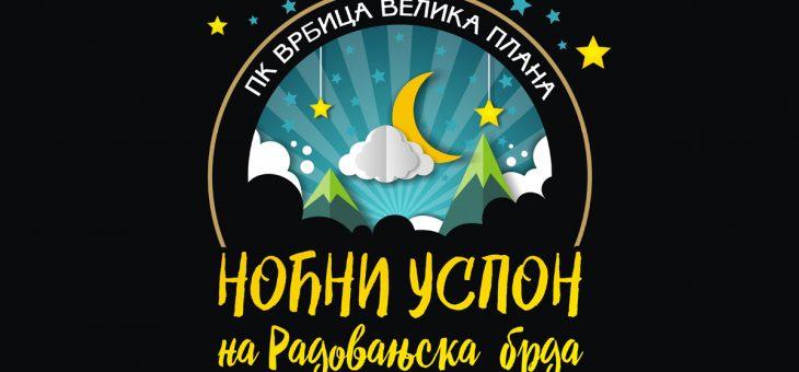 Najava akcije: Noćni uspon na Radovanjska brda