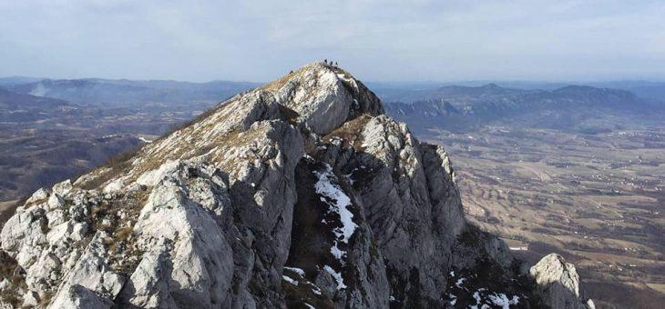 Izveštaj sa akcije: Zimski uspon grebenom Velikog Krša
