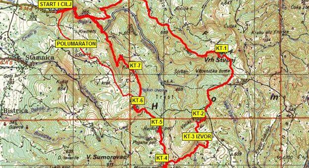 Izveštaj sa akcije: Homoljski planinarski maraton