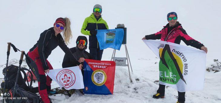 Vesti: Zastava PK Vrbice na planinama Žljeb i Mokroj Gori